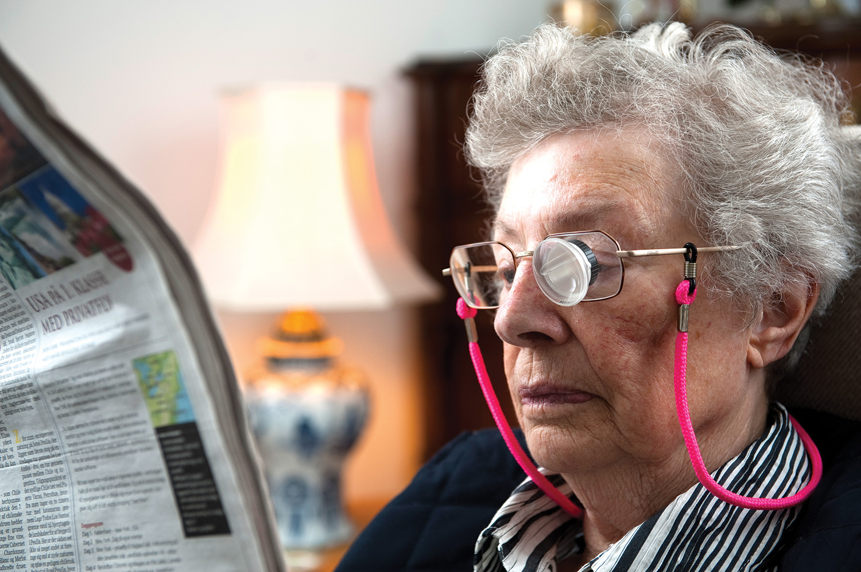 b3bf0835b60e Intet at stille op med nedsat syn ved aldersbetinget øjensygdom  – Jo
