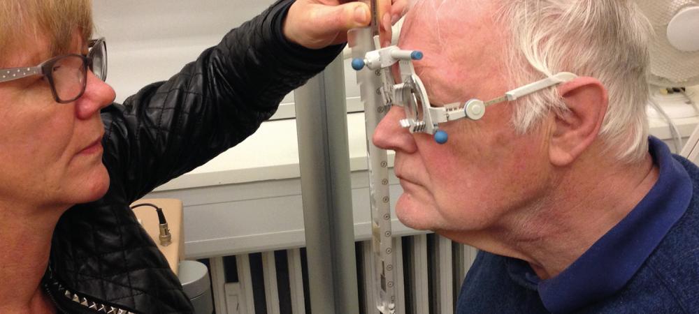 316bdc29c Specialoptik til Parkinsons patient | Øjenforeningen