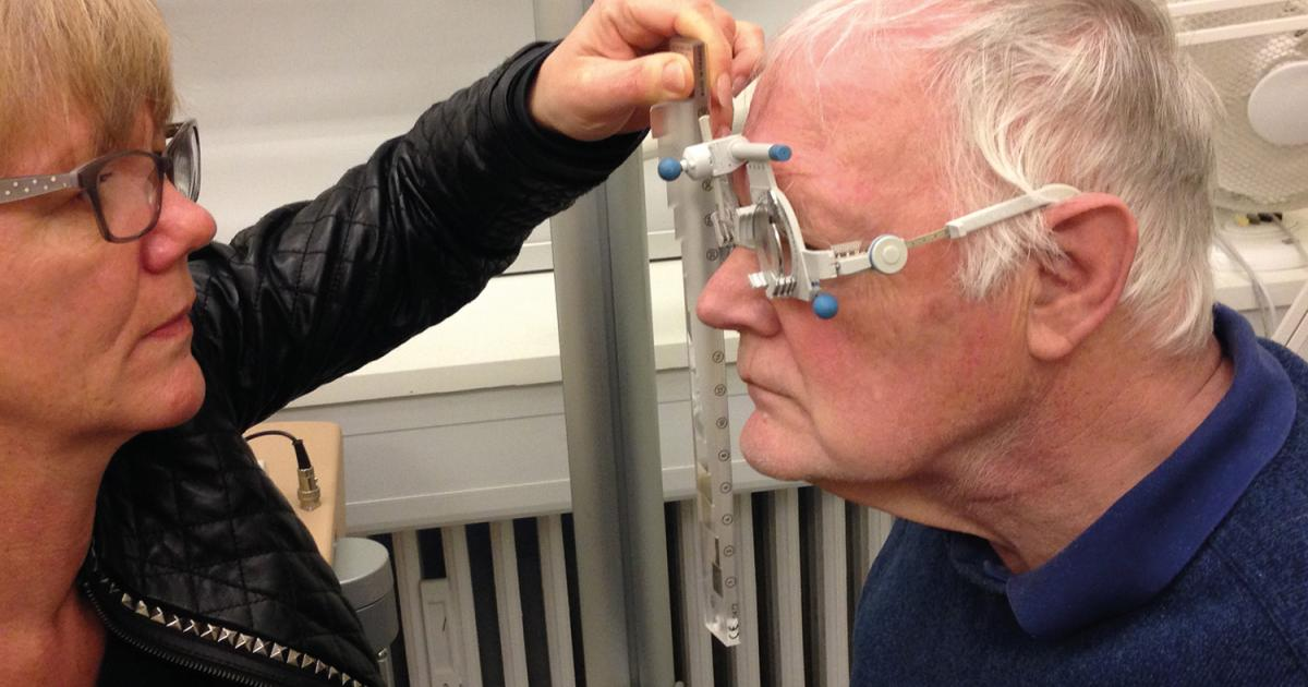 Specialoptik til Parkinsons patient | Øjenforeningen